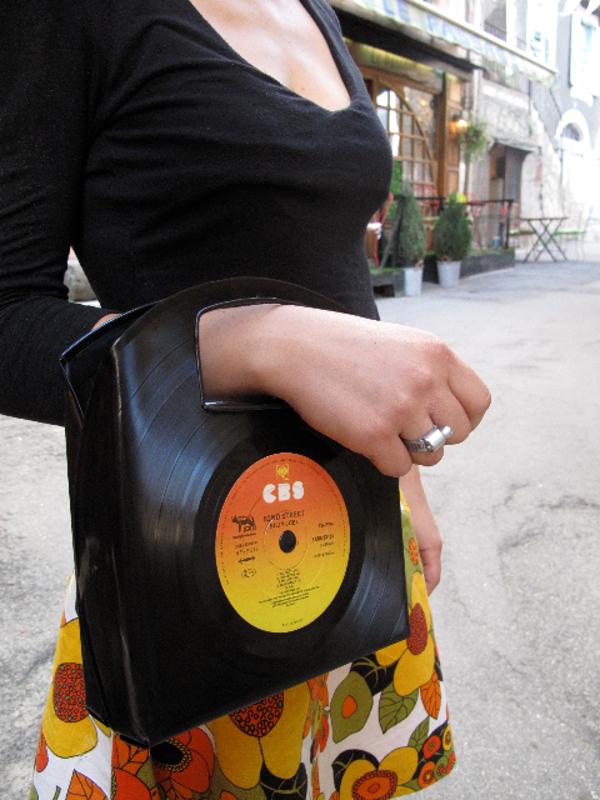 Sac Vinyl 33 T - Grande anse